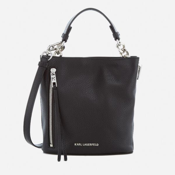 Karl Lagerfeld Women's K/Kool Mini Bucket Bag - Black