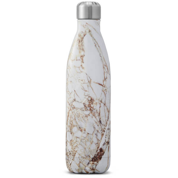 S Well The Calacatta Gold Water Bottle 750ml Homeware