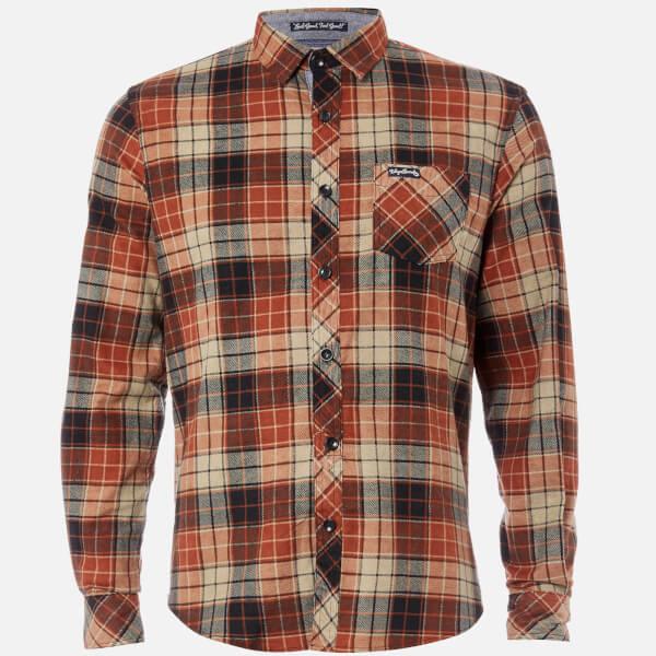 Tokyo Laundry Men's Nashville Flannel Long Sleeve Shirt - Rust