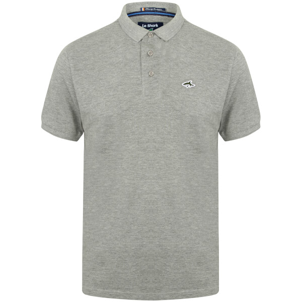 Le Shark Men's Halkin Polo Shirt - Grey Marl