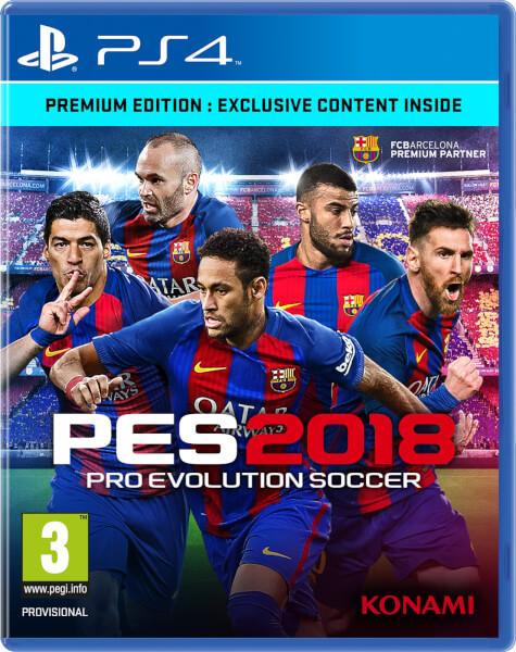 PES 2018 Premium Edition PS4 | Zavvi USA