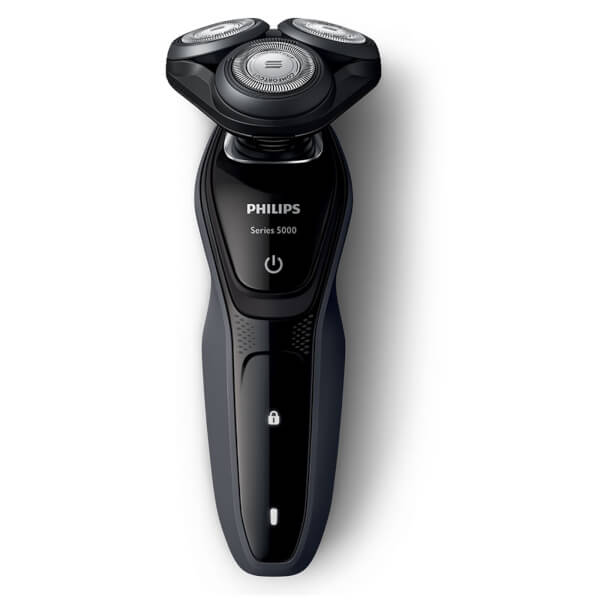 Philips Men's S5270/06 Series 5000 Wet and Dry Electric Shaver with Precision Trimmer