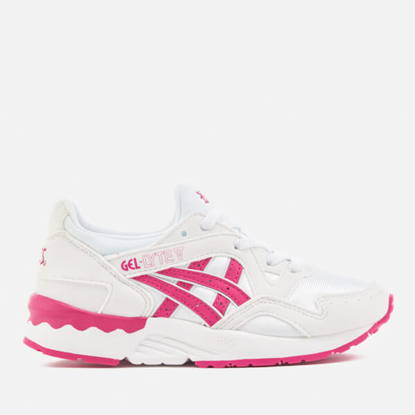 93ac1e337b8 Asics Kids' Gel-Lyte V PS - White/Sport Pink | FREE UK Delivery ...