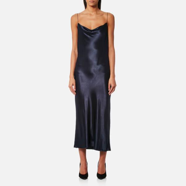 e2cd2d293aa Bec   Bridge Women s Sirens Midi Dress - French Navy Womens Clothing ...
