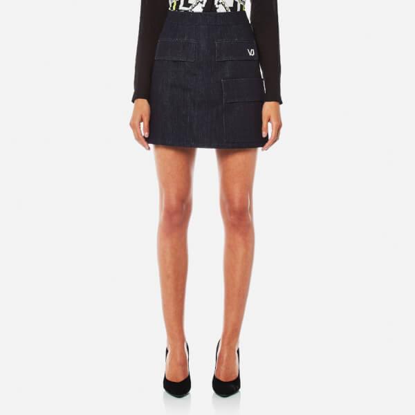 Versace Jeans Women's Skirt - Indigo