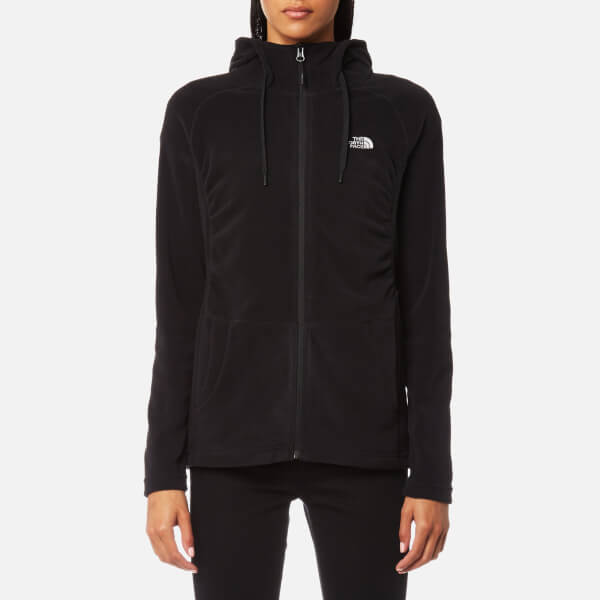 The North Face Women's Mezzaluna Full Zip Hoody - TNF Black