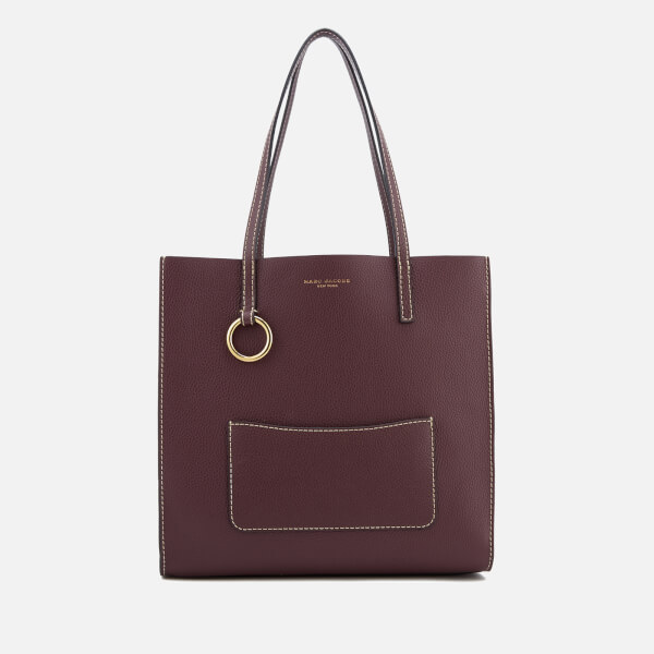 Marc Jacobs Women's The Bold Grind Shopper Bag - Blackberry