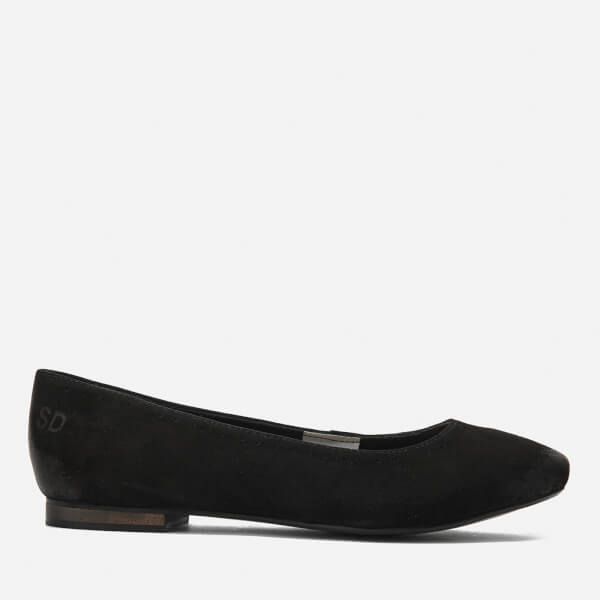 Superdry Women's Super Ballet Shoes - Black