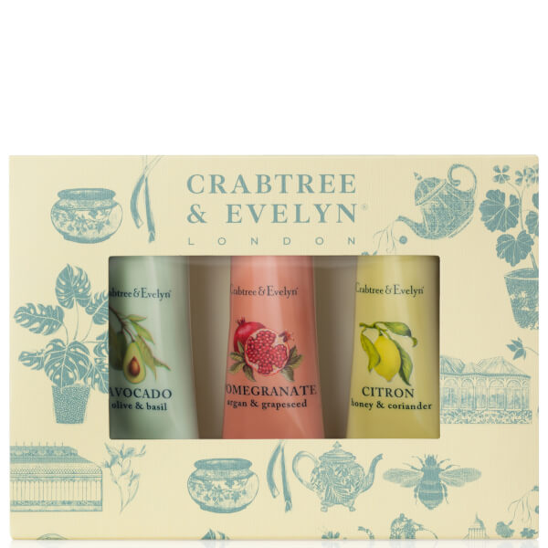 Crabtree & Evelyn Botanicals Hand Therapy Sample 3 x 25g