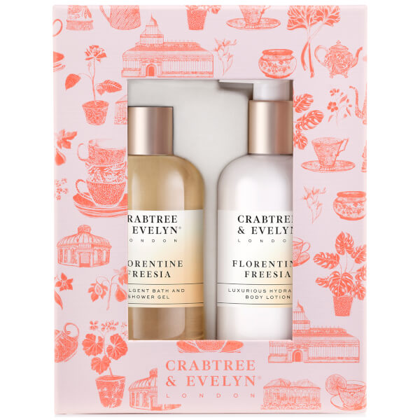 Crabtree & Evelyn Freesia Body Care Duo 300ml