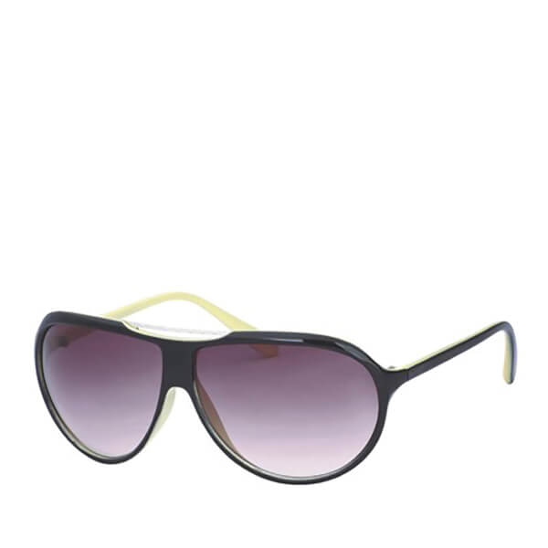 Men's Wrap Sunglasses - Black