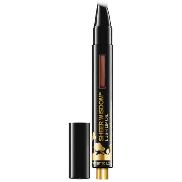 butter LONDON Sheer Wisdom Lip Oil 2.5ml - Rich Nutmeg