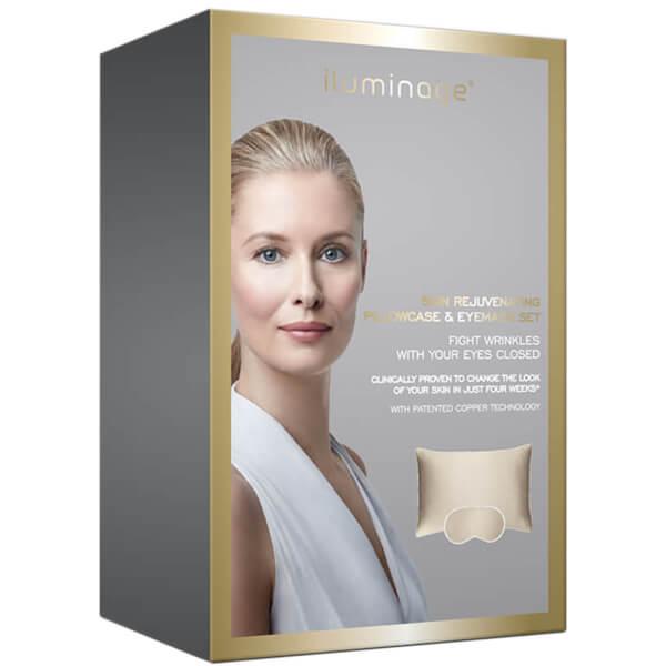 Iluminage Skin Rejuvenating Pillowcase and Eye Mask