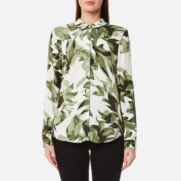 Selected Femme Women's Kamilo Long Sleeve Shirt - Whisper Green