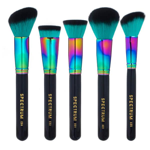 Spectrum Collections 5 Piece Siren Sculpt Brush Set