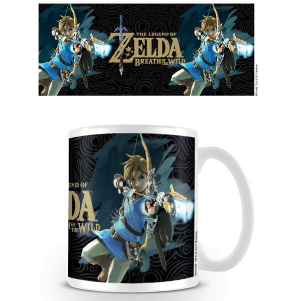 Tasse The Legend of Zelda: Breath of the Wild (Jaquette)