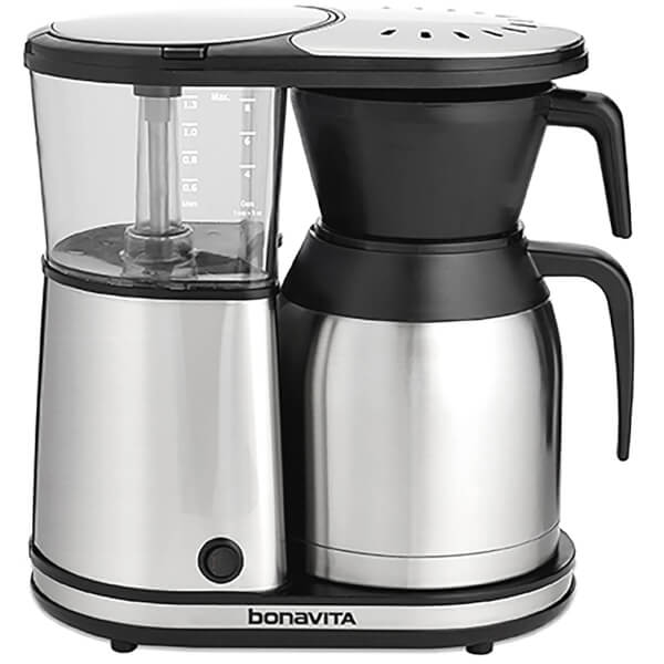 Bonavita BV1900TS 8-Cup Coffee Brewer with Stainless Steel Thermal Carafe