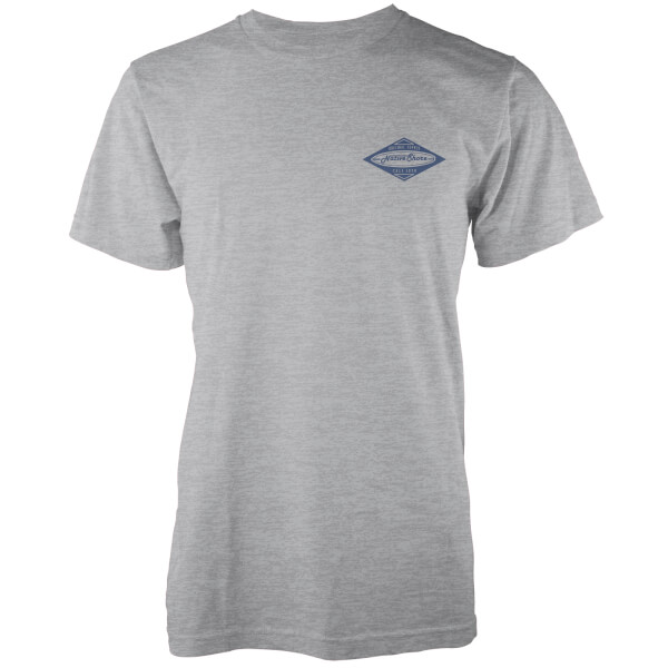 Native Shore Men's Authentic Shore Pocket Print T-Shirt - Navy
