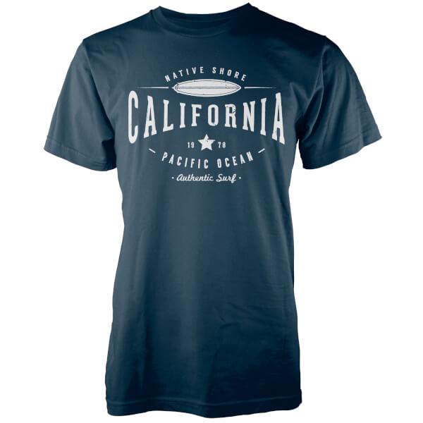 Native Shore Men's Cali 1978 T-Shirt - Blue