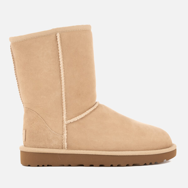 Discount Cheapest Cheap Sale Low Price Fee Shipping UGG Women's Classic Short II Sheepskin Boots - Chestnut - UK 3.5 - Tan Buy Cheap Huge Surprise Clearance Visit Visit New Sale Online NJhSpCEauc