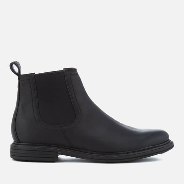 UGG Men's Baldvin Grain Leather Chelsea Boots - Black