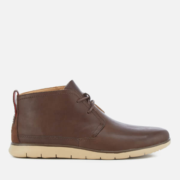 UGG Men's Freamon Grain Leather Desert Boots - Grizzly