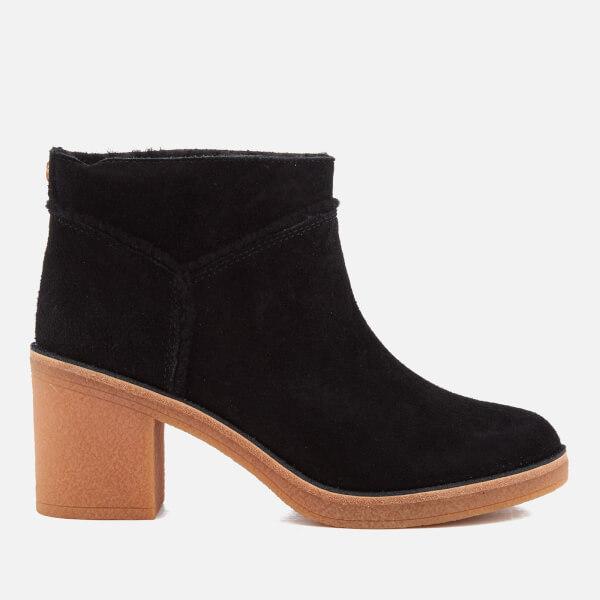 UGG Women's Kasen Suede Heeled Ankle Boots - Chestnut - UK 4.5 B5h1eNmJ