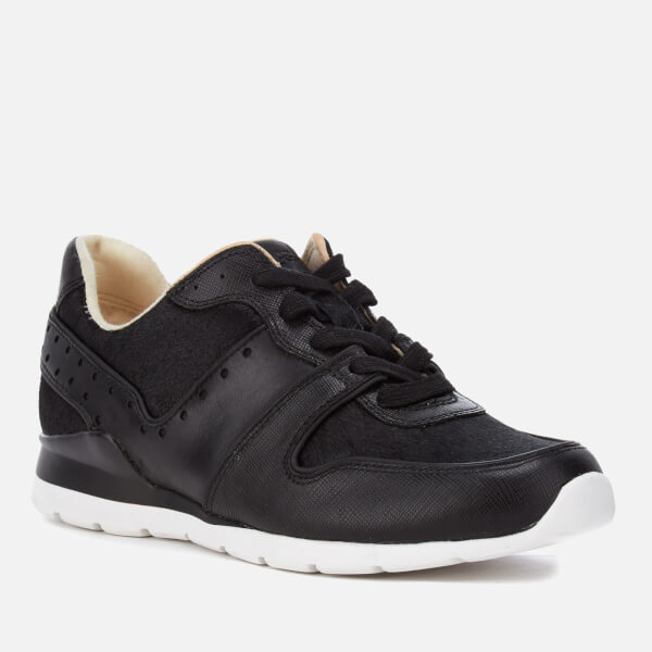 UGG Women's Deaven Exotic Cow Hair/Leather Running Trainers - - UK 3.5 OIsgegg