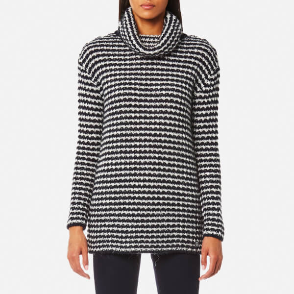 Barbour Women's Northcoates Knitted Jumper - Navy