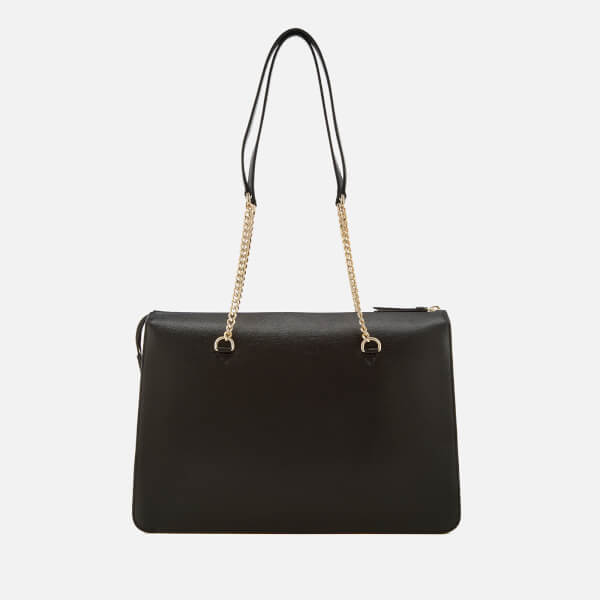 51873e832 Dkny Sutton Leather Large Tote Bag Black | Stanford Center for ...