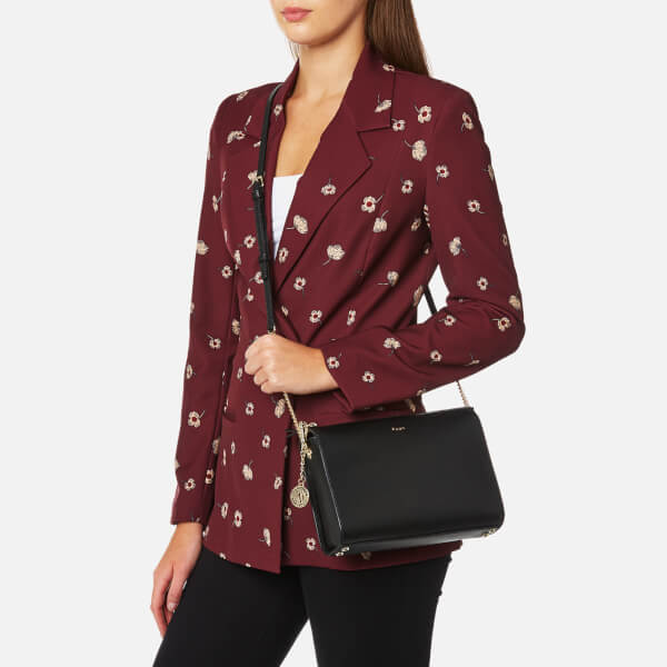 92bdff3be6d DKNY Women s Sutton Small Top Zip Cross Body Bag - Black  Image 3