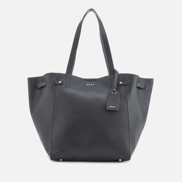 Dkny Women S Chelsea Pebbled Leather Large Tote Bag Black Image 1