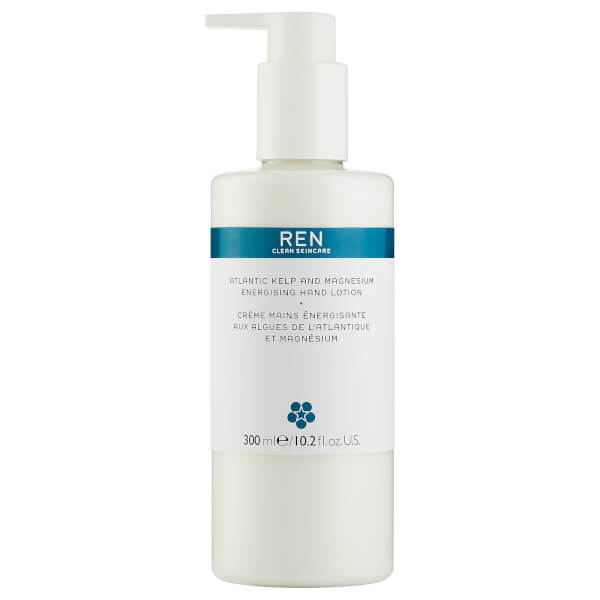 REN Skincare Atlantic Kelp and Magnesium Energising Hand Lotion 300ml