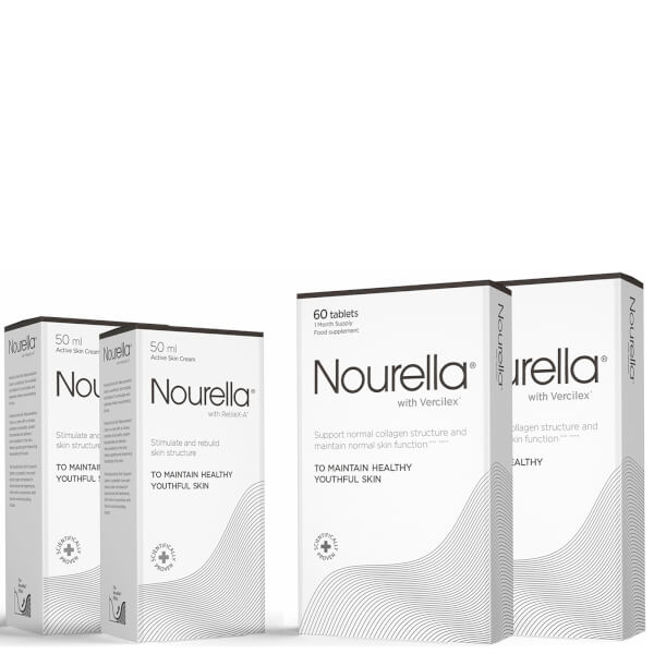 Nourella 2 Month Bundle (2 x Tablets 60's and 2 x Cream 50ml)