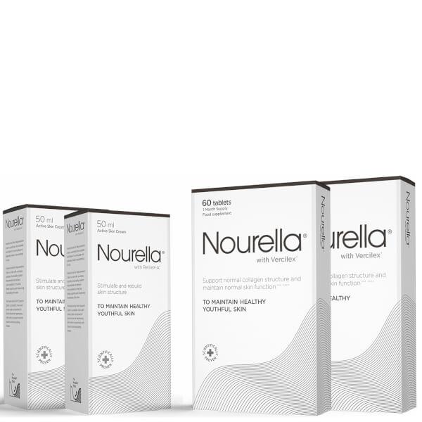 Nourella 2 Month Bundle (2 x Tablets 60's and 2 x Cream 50ml)