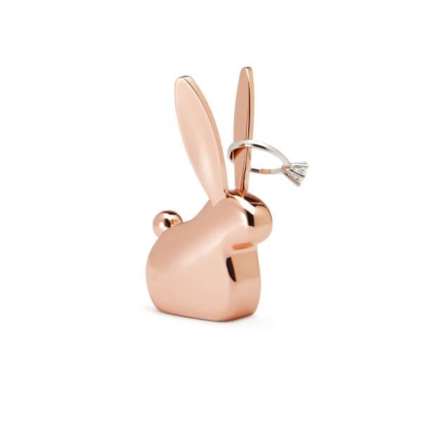 Umbra Anigram Bunny Ring Holder - Copper