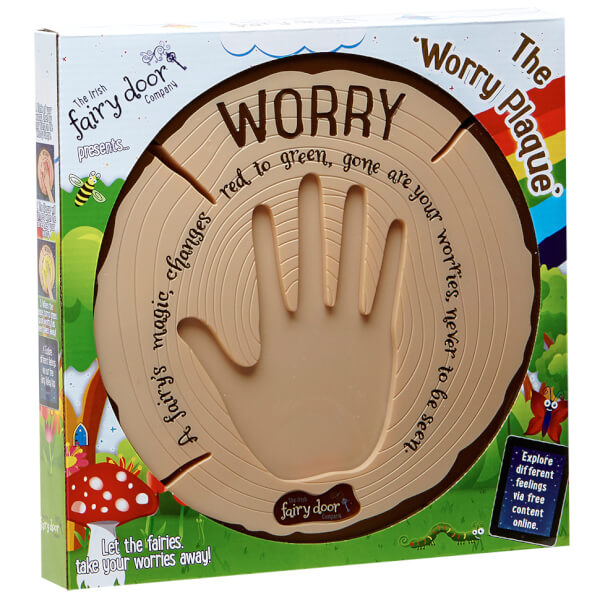 The Irish Fairy Door Company Interactive Worry Plaque