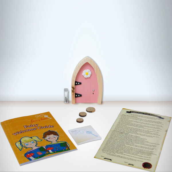 The irish fairy door company arched fairy door pink for The irish fairy door company facebook
