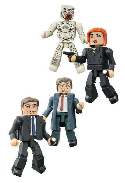 X-Files Minimates