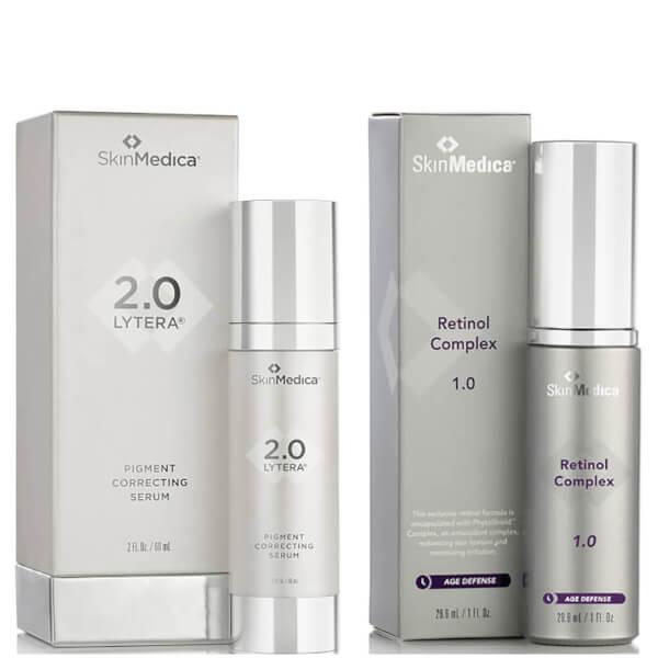 SkinMedica LYTERA 2.0 Pigment Correcting Serum and Retinol Complex 1.0