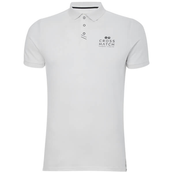 Crosshatch Men's Princeton Polo Shirt - White