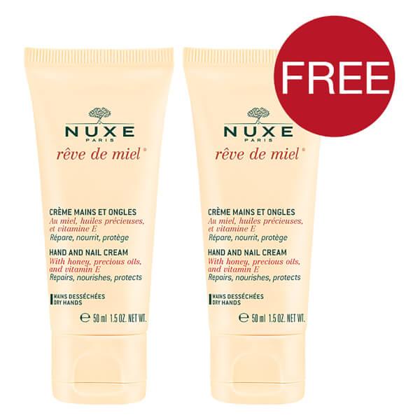 NUXE Rêve de Miel Duo Hand and Nail Cream