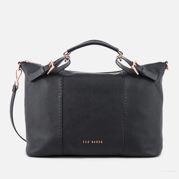 ad9b1236af Ted Baker Women s Salbee Pop Handle Large Tote Bag - Black  Image 1