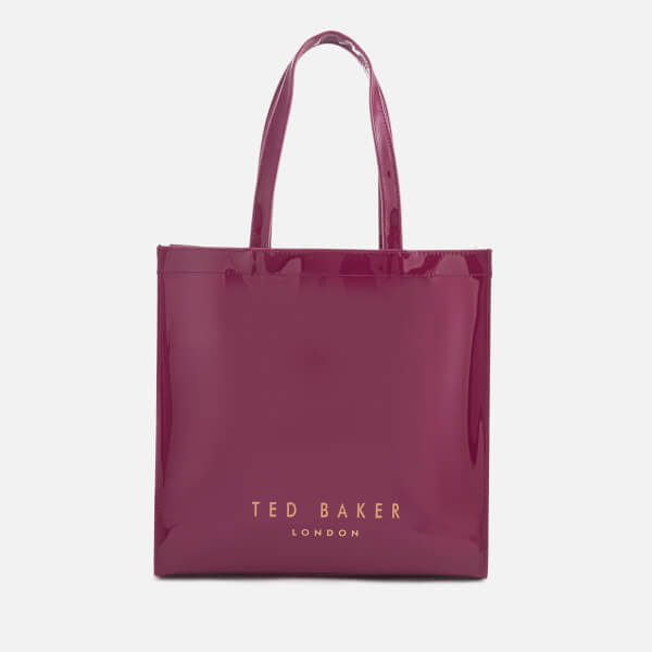 3a8aed0148d95 Ted Baker Women s Bethcon Bow Detail Large Icon Bag - Oxblood  Image 2