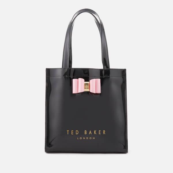 ted baker women s jenacon bow detail small icon bag black