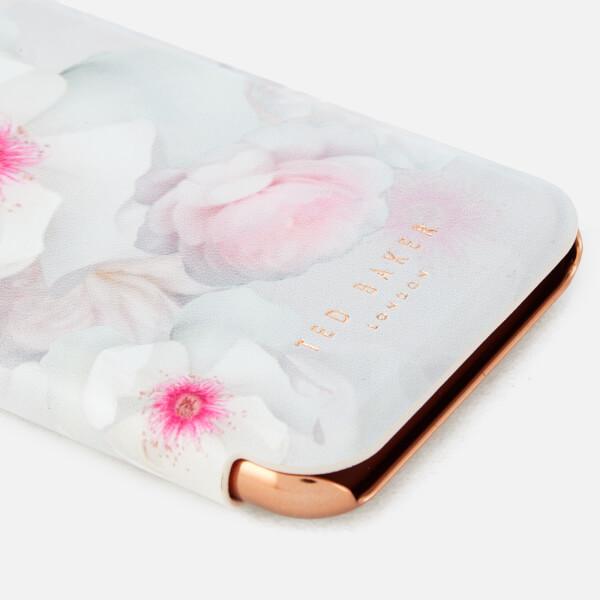 bdef85440 Ted Baker Women s Malibai Chelsea iPhone Flip Case - Light Grey  Image 2