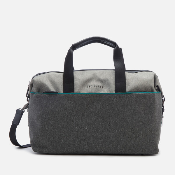 Ted Baker Men's Cheetz Core Nylon Holdall Bag - Grey