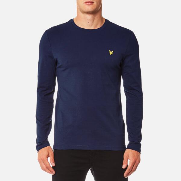 Lyle & Scott Men's Long Sleeve Crew Neck T-Shirt - Navy