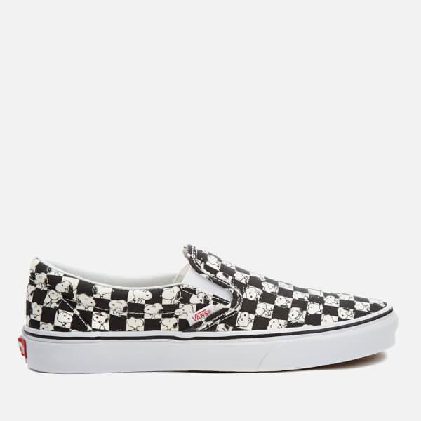 vans classic slip on checkerboard uk