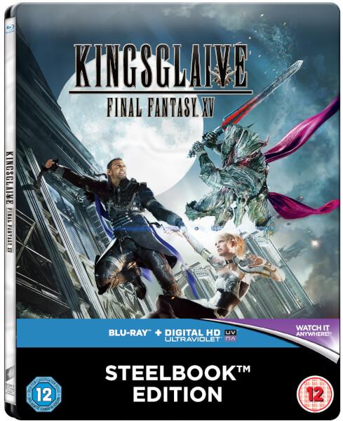 Kingsglaive: Final Fantasy XV - Steelbook Exclusif Édition Limitée pour Zavvi
